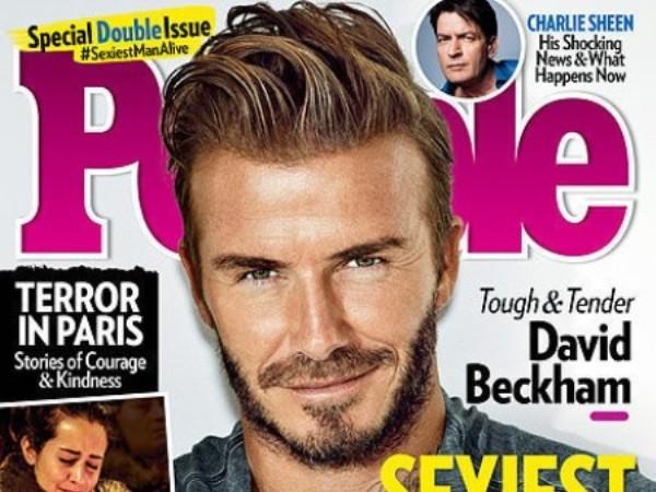 David Beckham- Người đàn ông đương đại hấp dẫn nhất 2015 ảnh 1