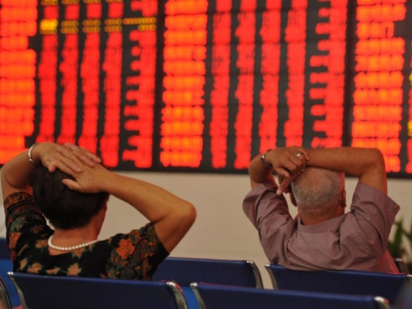 """Nhiều sếp tài chính ở Trung Quốc bị """"sờ gáy"""" sau vụ thị trường chứng khoán ở nước này rơi vào hỗn loạn hồi năm 2015"""