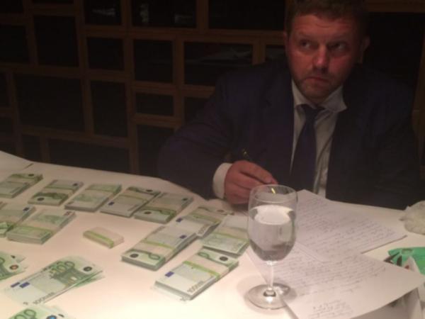 Bức ảnh chứng minh ông Belykh nhận hối lộ được SKR công bố