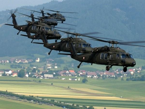 Latvia được nhận 5 chiếc trực thăng chiến đấu mạnh mẽ