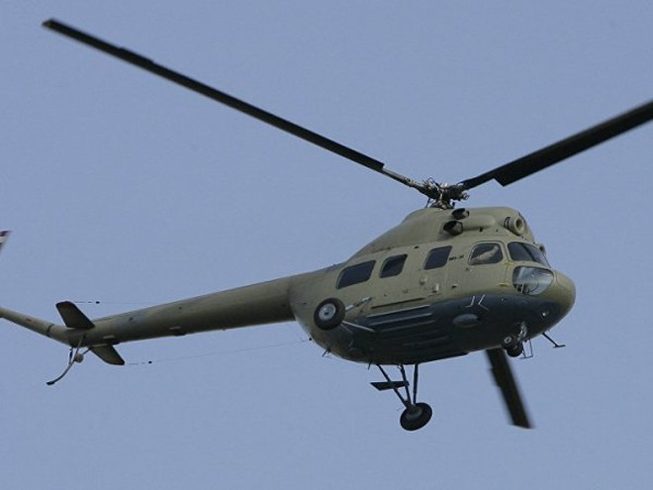 Một chiếc trực thăng Mil Mi-2