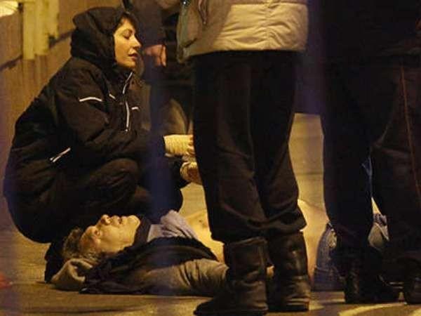 Hiện trường vụ ám sát chính trị gia đối lập Nemtsov