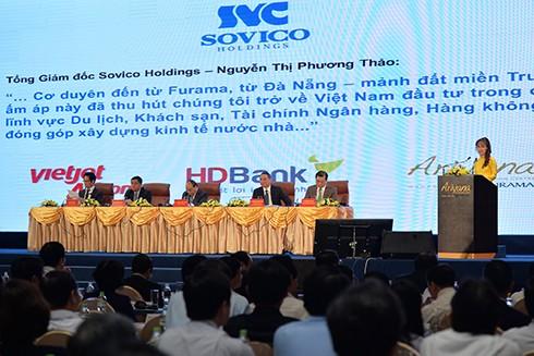 Phó Chủ tịch Thường trực HĐQT HDBank Nguyễn Thị Phương Thảo phát biểu tại sự kiện