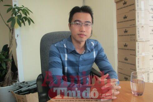 Anh Lê Văn Hùng trong buổi trao đổi với PV Báo ANTĐ. Ảnh: Trung Hiếu