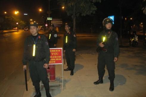 Lực lượng CSCĐ, CATP Hà Nội, sẵn sàng đảm bảo ANTT trong những thời khắc quan trọng