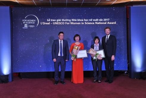 Các nhà khoa học nữ Việt Nam được vinh danh xứng đáng