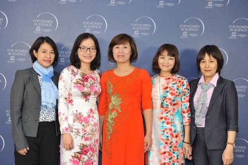 Chân dung 5 nhà khoa học nữ Việt Nam được vinh danh năm 2017