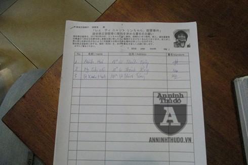Một bản xin chữ ký được đặt tại quán cafe ở Hà Nội