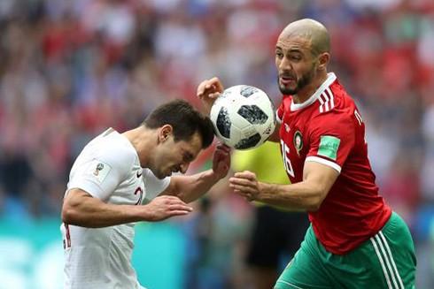 """Trận cầu hay nhất World Cup 2018 và nước mắt của các """"chiến binh"""" Maroc ảnh 1"""