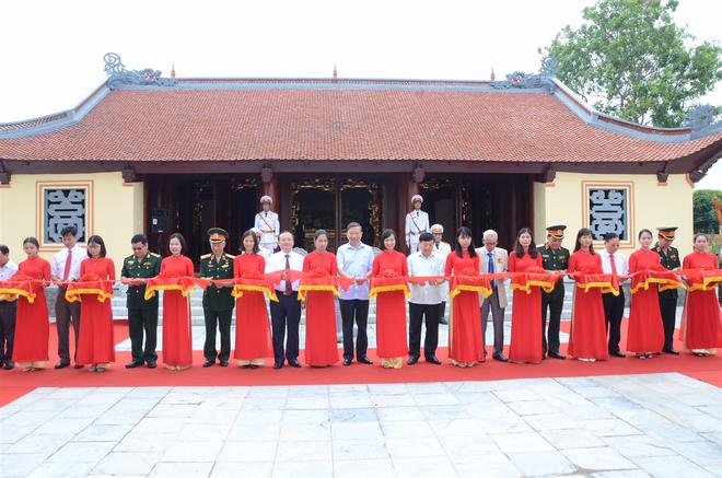 Bộ trưởng Tô Lâm dự Lễ kỷ niệm 110 năm Ngày sinh và khánh thành Nhà tưởng niệm Trung tướng Nguyễn Bình ảnh 2