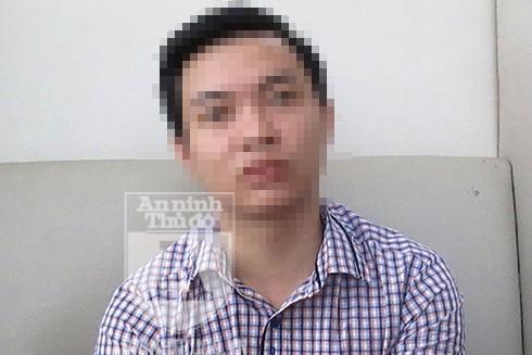 Anh Trần M.Q chia sẻ sự việc với PV Báo ANTĐ
