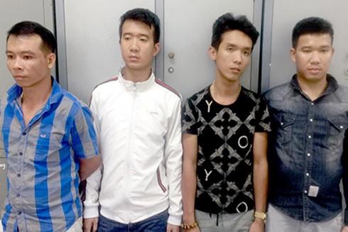 Nhóm đối tượng giữ người trái phép bị công an bắt giữ