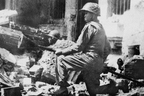 Hình ảnh lịch sử của những chiến sĩ Vệ quốc quân