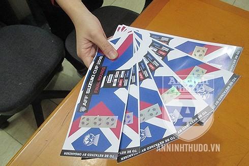 Những chiếc vé giả mà Trang giao cho khách hàng, khi nhìn qua rất dễ... tưởng thật