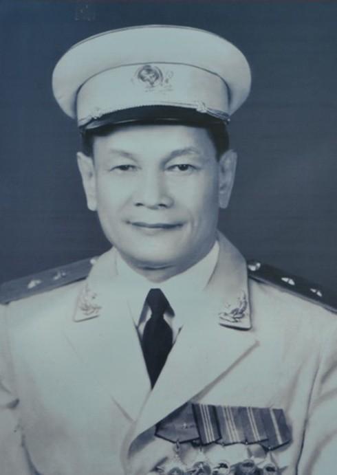 Đồng chí Trung tướng Phạm Kiệt, nguyên Phó Cục trưởng Cục bảo vệ trong chiến dịch Điện Biên Phủ