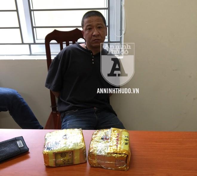 Hai đối tượng Nguyễn Hữu Huy và Nguyễn Thị Thắm
