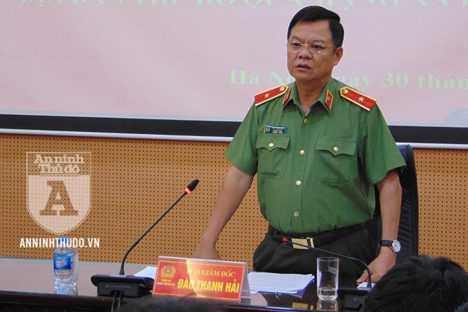 Thiếu tướng Đào Thanh Hải, Phó Bí thư Đảng ủy, Phó Giám đốc CATP Hà Nội khẳng định việc thành lập fanpage chính thức của CATP là bước đi cần thiết, đáp ứng nhu cầu thực tiễn