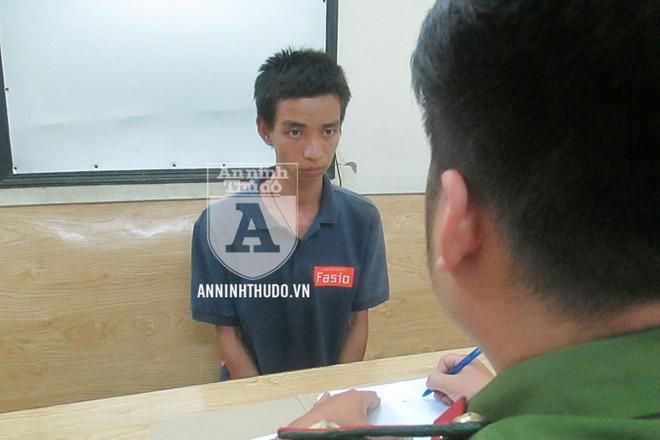 Chỉ một ngày sau khi gây án, đối tượng Tùng đã bị CAP Đồng Tâm bắt giữ
