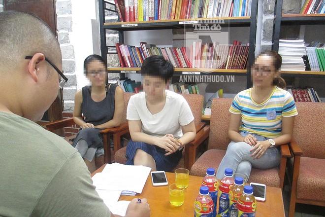 Ba người tố cáo Mai Công Linh cung cấp thông tin cho PV Báo ANTĐ