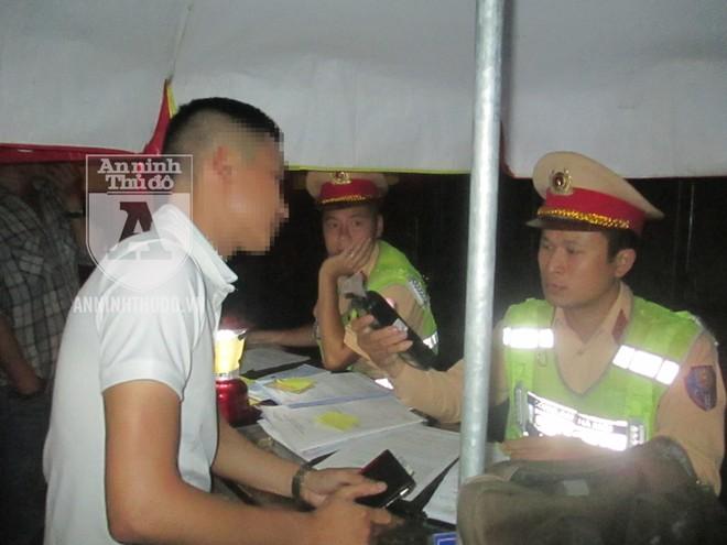 Cảnh sát 141 kiên quyết xử lý những trường hợp vi phạm nồng độ cồn khi điều khiển phương tiện giao thông