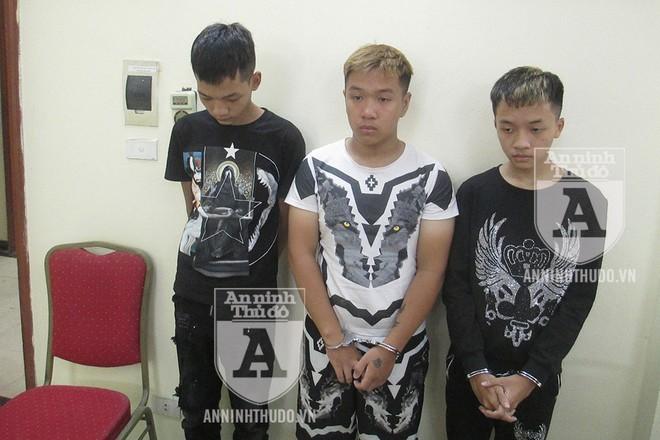 """Từ trái qua phải: Hiếu, Quang """"béo"""" và Quang """"gầy"""""""