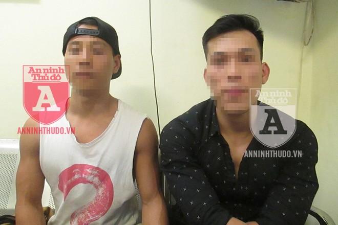 Hai nam thanh niên làm nghề huấn luyện thể hình bị tạm giữ, sau khi bị phát hiện hành vi tàng trữ cần sa và công cụ hỗ trợ