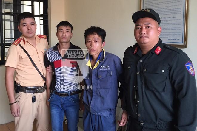 Hai đối tượng bị Cảnh sát 141 phát hiện, bắt giữ vì hành vi tàng trữ và sử dụng chất ma túy