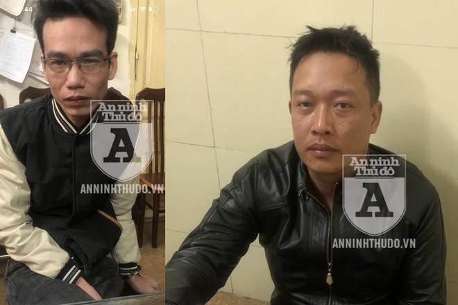 Cao Kiên Cường (trái) và Vũ Quang Hải