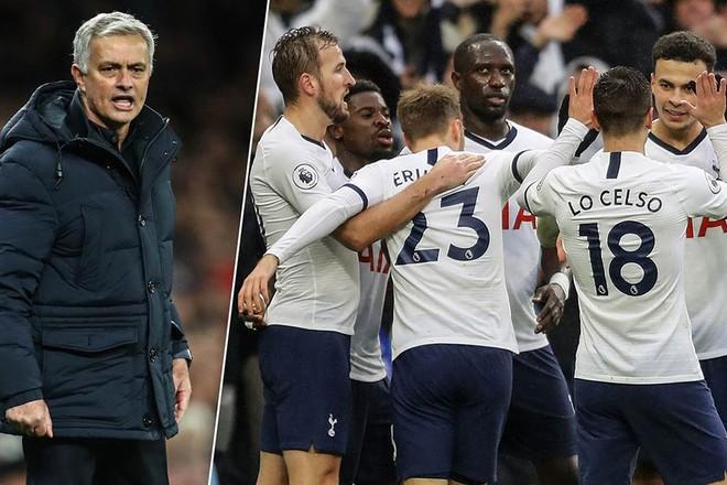 Có Mourinho, Tottenham thắng liên tiếp, sau loạt trận chỉ hòa và thua