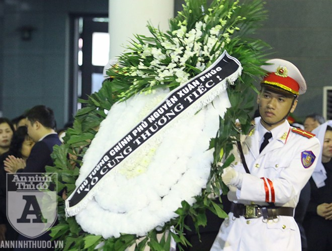 Nghẹn ngào lễ tang 3 cán bộ công an hy sinh khi làm nhiệm vụ