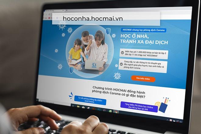 Mở cổng học trực tuyến miễn phí cho học sinh học tại nhà tránh dịch cúm Corona