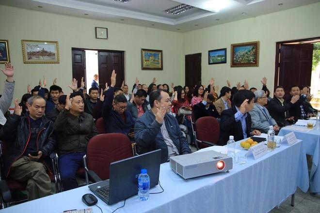 Đại hội biểu quyết nhất trí với định hướng mục tiêu nhiệm kỳ mới của Chi hội Nhà báo Báo ANTĐ
