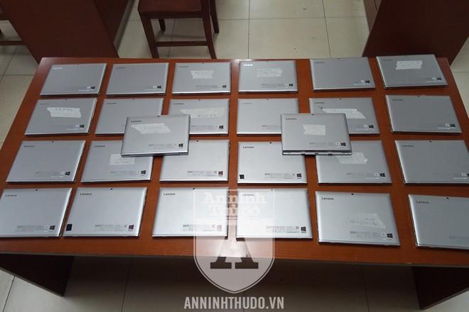 Lô máy tính bảng bị kẻ gian lấy trộm, và được Đội CSHS (CAQ Hai Bà Trưng) tích cực thu hồi