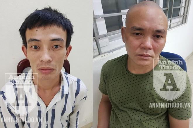 Đối tượng Quân (trái) đã nhờ Vui mua hộ ma túy với số tiền 3 triệu đồng