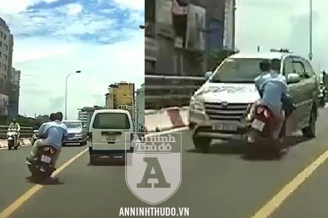Ông H điều khiển xe máy vi phạm Luật Giao thông, không may phải nhận hậu quả đáng tiếc
