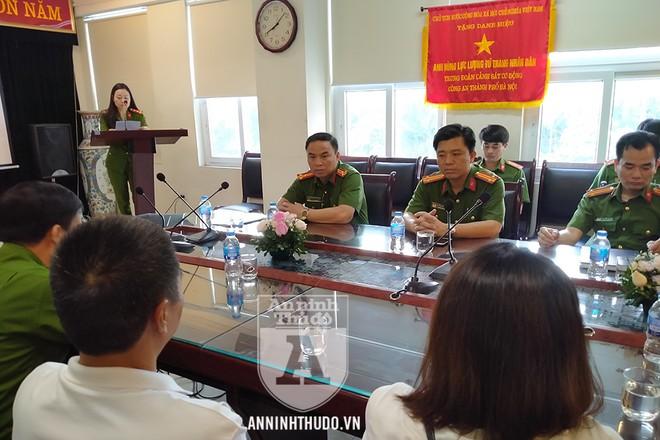 Trung đoàn Cảnh sát Cơ động (CATP Hà Nội) tưởng nhớ, tri ân các Anh hùng liệt sỹ