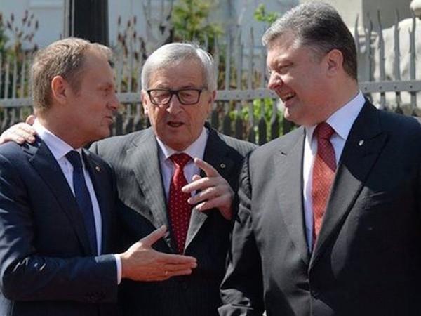 EU và Ukraine có cuộc họp thượng đỉnh vào đúng thời điểm miền đông Ukraine đang có dấu hiệu căng thẳng trở lại