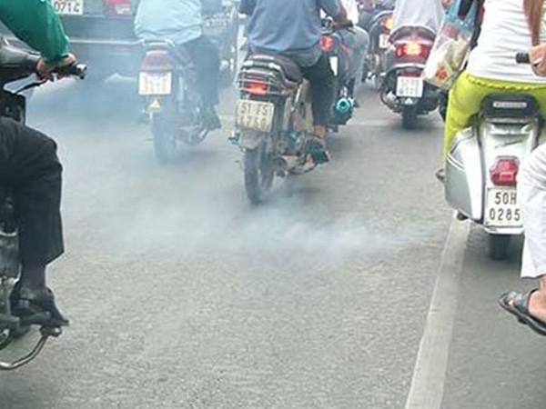 Kiểm soát khí thải xe mô tô, gắn máy: Xe không đạt yêu cầu bị cấm lưu thông ảnh 1