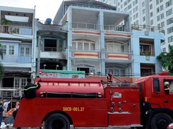 Quán phở nơi xảy ra vụ cháy