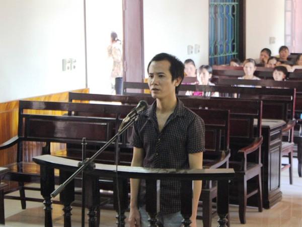 Bị cáo Nguyễn Văn Lê tại phiên tòa