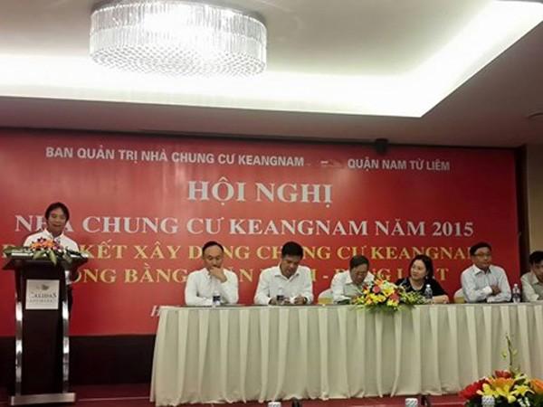 Hội nghị nhà chung cư Keangnam thường niên năm 2015