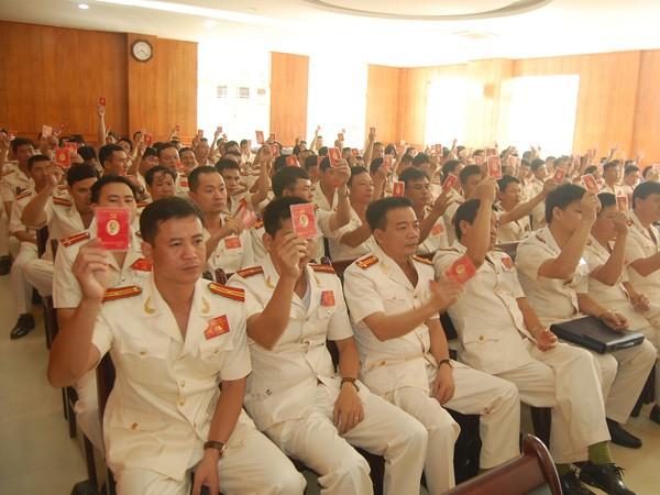 Công an Hà Nội vinh dự tổ chức Đại hội Đảng bộ điểm của thành phố ảnh 1