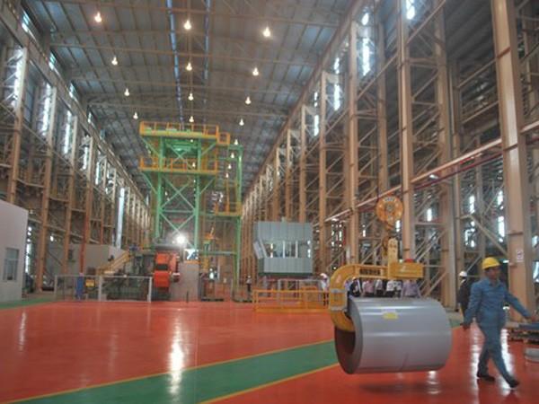 Tôn Phương Nam khánh thành nhà máy 70 triệu USD ảnh 1