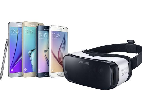 Samsung ra mắt thiết bị kính thực tế ảo Gear VR đầu tiên
