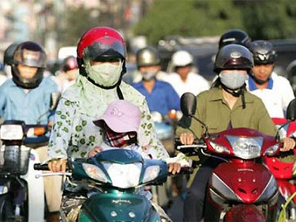 Nắng nóng tiếp tục có xu hướng gia tăng tại khu vực Hà Nội