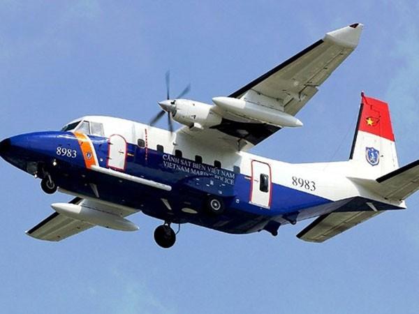 Một máy bay CASA số hiệu 8983 của lực lượng Cảnh sát biển Việt Nam hiện đã mất liên lạc từ trưa 16-6