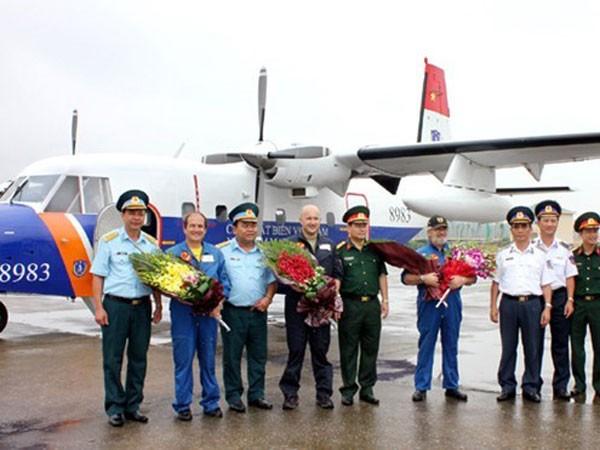 Máy bay CASA-212 được biên chế trong Cảnh sát biển Việt Nam từ năm 2012