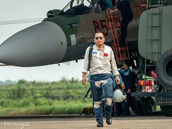 Đại tá Trần Quang Khải là 1 trong những phi công lão luyện