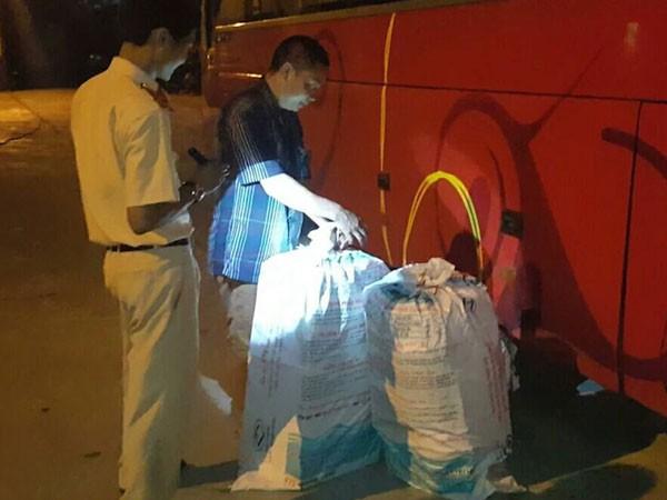 CSGT Trạm Diễn Châu bắt giữ chiếc xe
