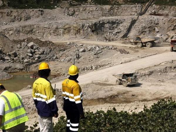 Mỏ MacMahon nơi những người bị bắt cóc làm việc